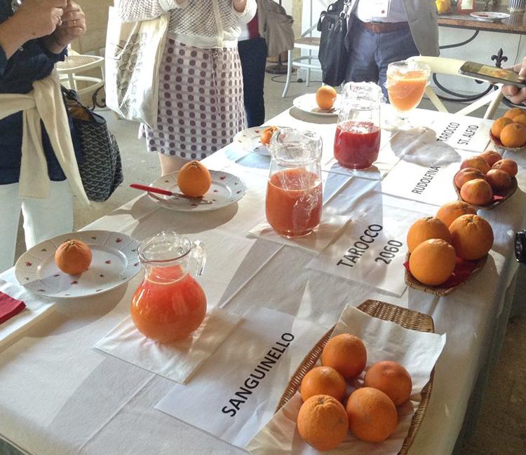 succhi d'arancia